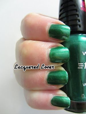 Wet N Wild Fast Dry Nail Polish Featuring SaGreena The Teenage Witch