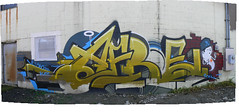 afroe by omens (httpill) Tags: streetart chicago art graffiti tag graf kym afroe omens httpill