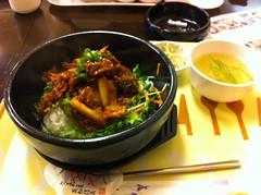 とんちゃん石焼き豚キムチ
