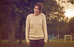 Holly (raim grin) Tags: park uk autumn england colour girl yellow canon lens daylight warm kingston 7d grin zenit hull 44 upon helios beresford raim hollyproctor