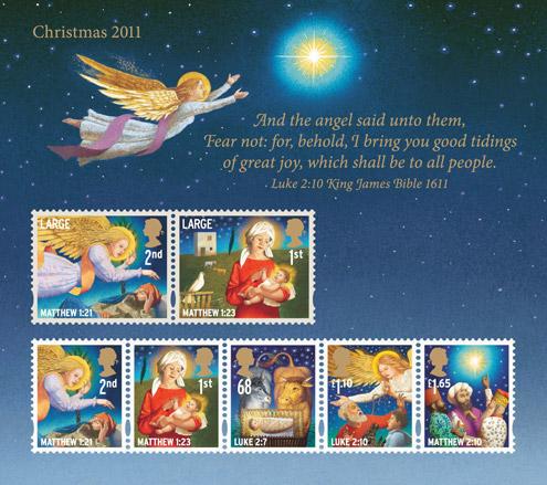 Christmas Stamps 2011