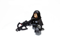 Marksman ([N]atsty) Tags: red modern mod cross lego plastic bow figure ba minifig modification crossbow minifigure tlg brickarms
