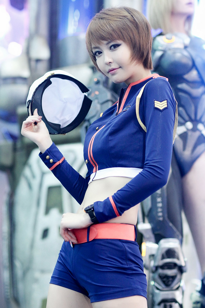 Beautiful girl in game costume » Asian Celeb/beautiful girl