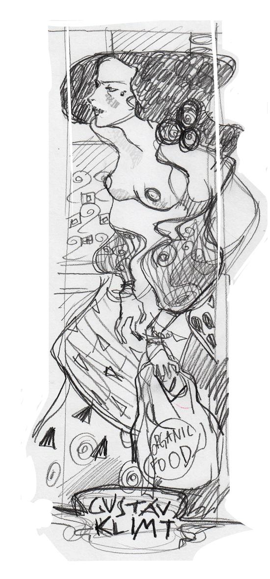 Mopka Klimt's Judith II
