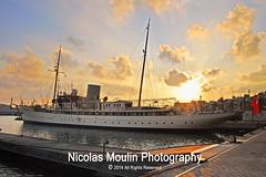 Nahlin (Nicolas Moulin (Nimou)) Tags: boat barco ship yacht steam photowalk antiguo tarragona 1930 velero 2011 nahlin romanianroyalfamily ladyanniehenriettayule