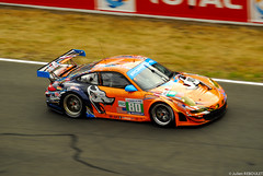 80  Flying Lizard  Porsche 997 RSR (julien.reboulet) Tags: french nikon lm endurance lemans motorsport francais aco 24h sarthe worldcars 24heuresdumans2011 24hoursoflemans2011 wwwjulienrebouletfr
