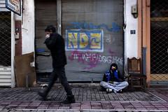 ... (Vasilis Mantas) Tags: street boy art canon photography graffiti ninja homeless beggar greece thessaloniki hiphop rap winte 500d 2011 kalamaria   pragmata  vmantasphotography  12os pithikos yphrxan