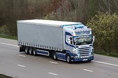 Scania R560 07-D-88972 (gylesnikki) Tags: blue ireland silver artic hinde