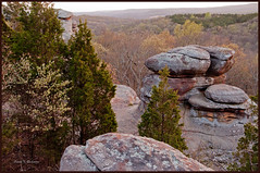 Coming Alive (sbuck1205) Tags: sunset spring rocks gardenofthegods shawneenationalforest