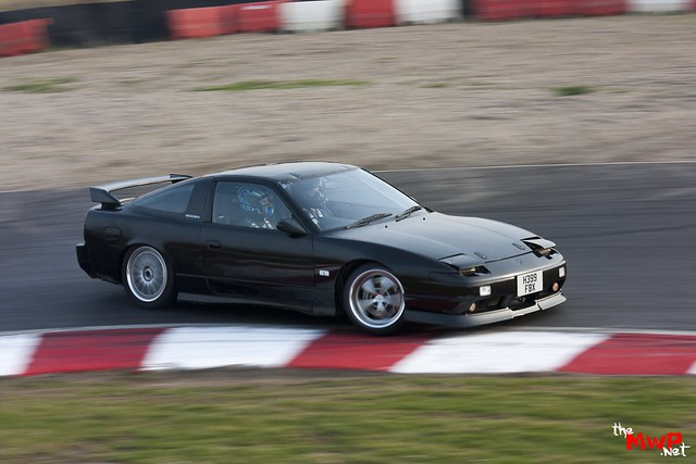 Dunkz drifting the John Deere Nissan S13