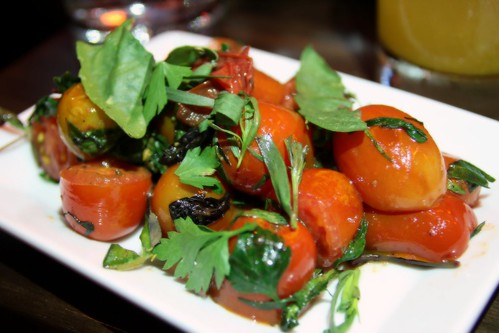 Tomato herb salad by Caroline on Crack