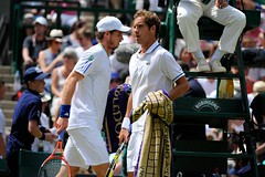 Andy - Richie (WeAreTennis) Tags: wimb crazymonday wimbly grasstennis lundidefolie grandchelme