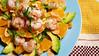 Rock Shrimp Avocado Orange Salad (deenamn) Tags: summer food orange cold cooking rock recipe avocado salad healthy almond shrimp fresh latin basil seafood citrus easy refreshing vinaigrette