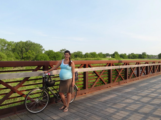 Bike ride at 36 weeks pregnant