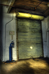DSC0147PJF (micro_lone_patriot) Tags: door up nikon factory elevator d2x roll hdr freight