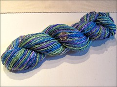 Spring Lake Lagoon yarn