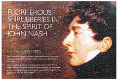 Floriferous Shrubberies in the Spirit of John Nash (swanksalot) Tags: london rain sign john spirit nash regency johnnash shrubberies floriferous swanksalot sethanderson