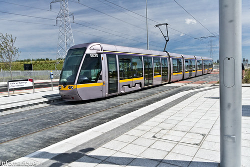 Luas Stop At Cheeverstown