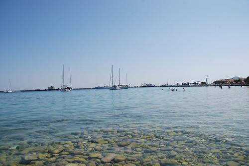 Remataki beach, Pythagorio