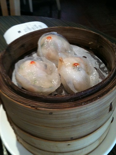 Prawn and scallop dumpling