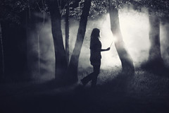 The Forbidden Forest (-Fearless-) Tags: trees portrait mist selfportrait girl fog night forest self darkness wand magic harry harrypotter books literature forbidden nighttime theme themed dreamcatcher hallow finalmovie deathly forbiddenforest harrypotterseries harrypotterthemed beforeharrypotterandthedeathlyhallows harrypotterprep