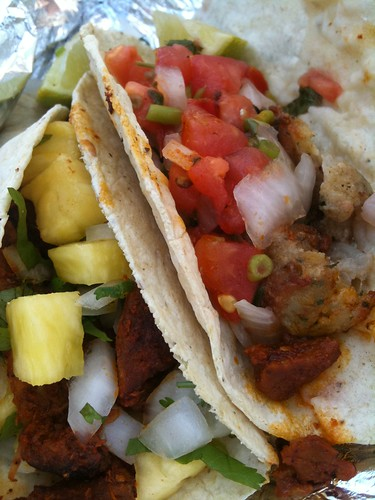 Fish! Al Pastor! Tuesday tacos.