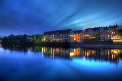 Regensburg Donau (RuinOfDecay!) Tags: canon germany bayern deutschland bavaria nacht decay ruin 1855mm ufer regensburg ratisbon hdr weltkulturerbe donau blaue stunde ruinofdecay