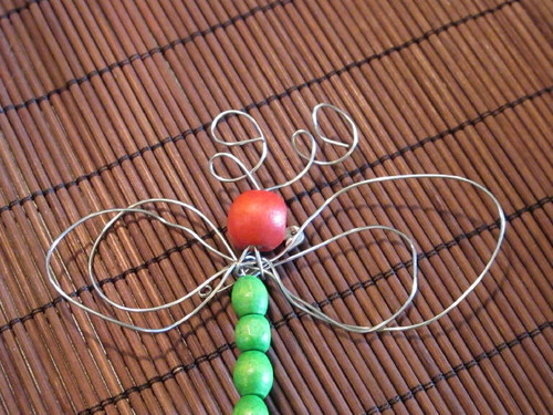 I LOVE this dragonfly that S made!