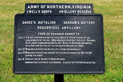 2011-07-03 (44) Benner's Hill (JLeeFleenor) Tags: photography photo photos civilwar artillery guns battlefield tablets gettysburgpa americancivilwar gettysburgbattlefield gunposition confederatemarker bennershill