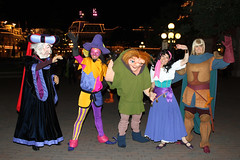 The Hunchback Characters bid us goodnight