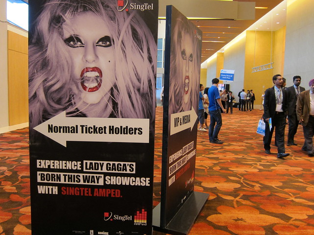 "SingTel AMPed Lady Gaga ""Born This Way"" Showcase"