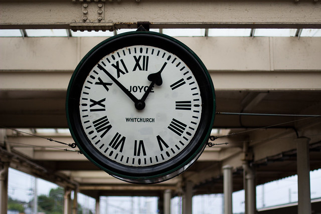 Carnforth Station Clock