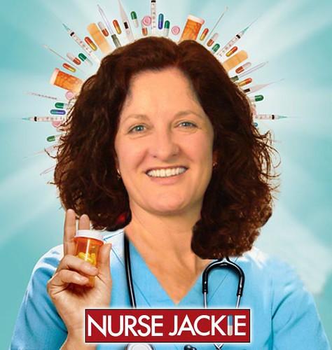 Jackie Ewing Nurse Jackie halo