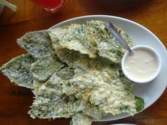 crispy kangkong (mince_1107) Tags: green crispy fried dip mayonnaise kangkong swampcabbage riverspinach