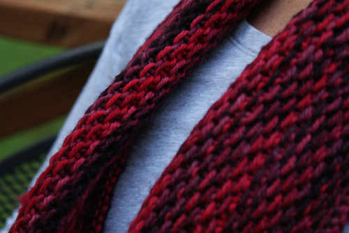 Honey Cowl Closeup