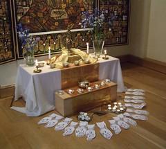Norwich Buddhist Centre Urban Retreat shrine