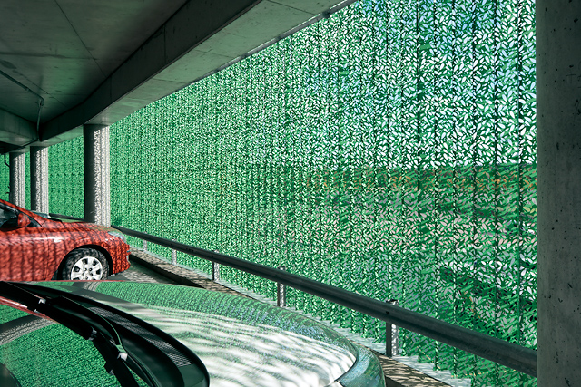 Green car park