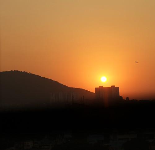 Sun up