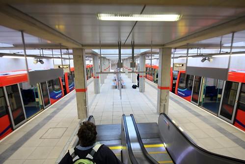 Stratford International DLR Station