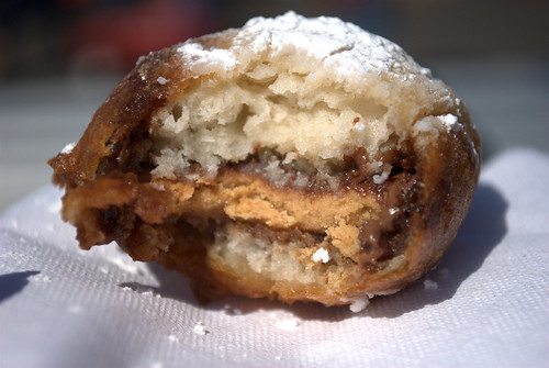 Deep fried Reese's Cup