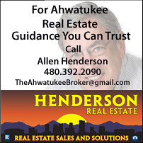 Henderson Real Estate -The Ahwatukee Broker - Allen Henderson Signature Block