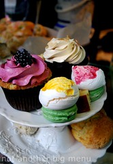Bea's of Bloomsbury - Full Afternoon Tea £15 pperson - Tiered cake selection