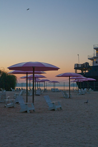 Before sunrise on Sugar Beach