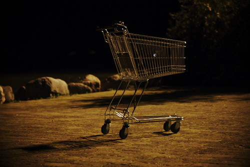 Abandoned Cart by Rollofunk