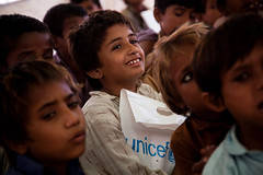 PAKISTAN: Education in the aftermath of the floods (UNICEF Pakistan) Tags: unicef pakistan education sindh floods pak tlc sanghar benari warrickpage unicefpakistan monsoonfloods2011