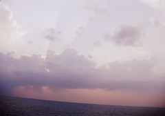 Big sky ♥ (gCere_photography) Tags: pink blue sea sky white clouds mare blu rosa cielo bianco ♥ nuvoles