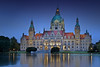 Neues Rathaus 01 (Sven Ampts Photography) Tags: expo hannover oldfashion cebit blauestunde rathaushannover neuesrathaushannover