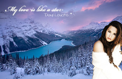 Demi Lovato - My love is like a star