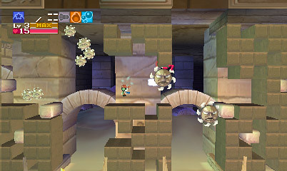 Cave Story 3DS - Sandzone 2
