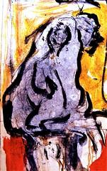 "illustracion para libro titulado: ""me llaman calle""* sept-oct. 2011 (THE ART OF STEFAN KRIKL) Tags: art watercolor modernart illustrations drawings expressionist"